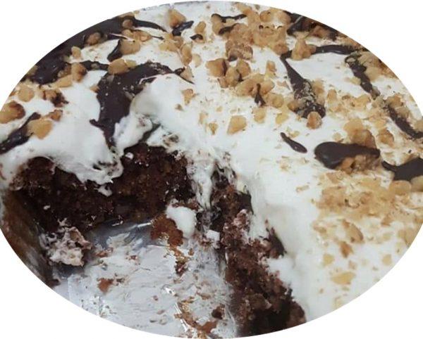 עוגת שוקולד אגוזים_מתכון של אסתר-אתי כראדי