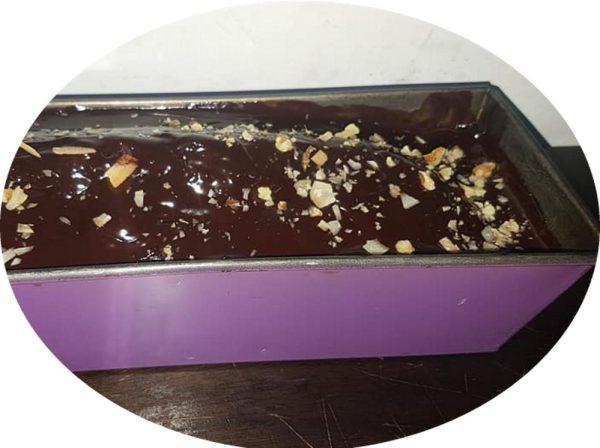 עוגת פרג שוקולד קוקוס בחושה