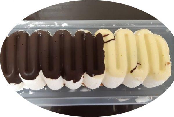 עוגת גלידת ו2 שוקולדים