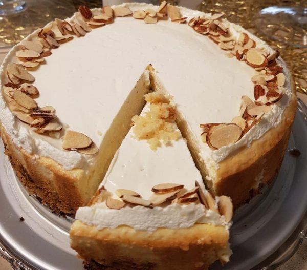 עוגת שמנת אפויה