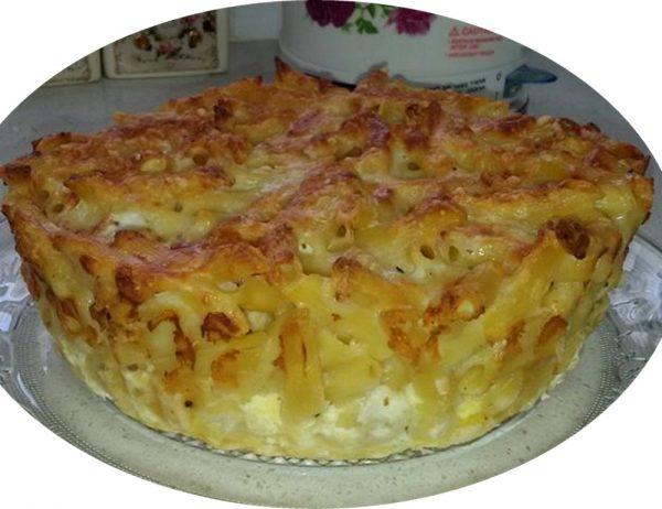 פשטידת אטריות עם גבינות