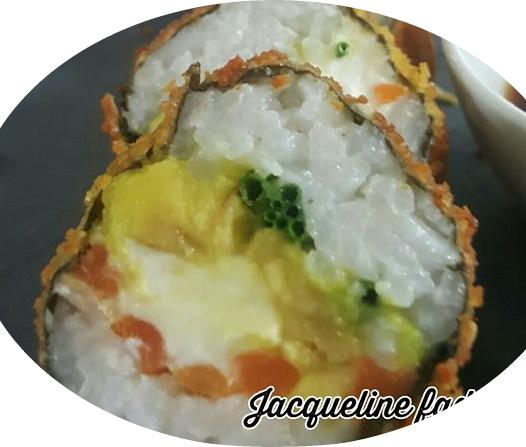 סושי במילוי גבינת עזים של פרומז