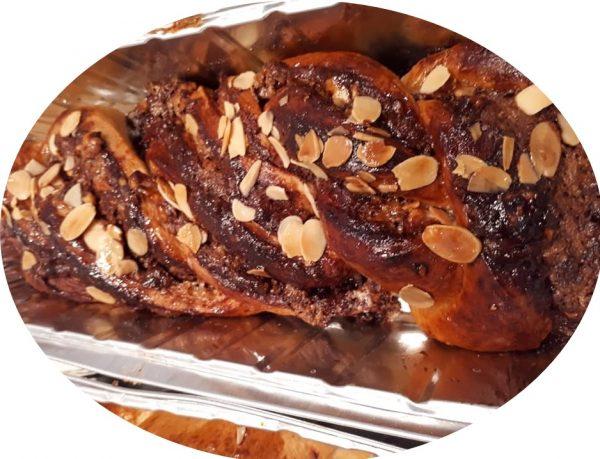 בצק שמרים לסהרוני קינמון/לשושני שמרים עם גבינה ודודבנים/לקרנצ שוקולד
