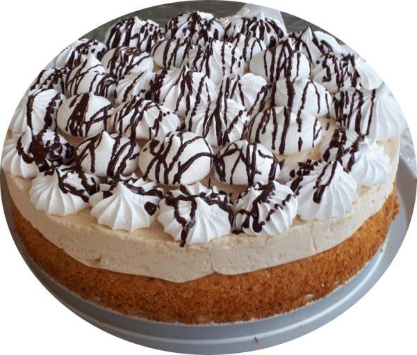 עוגת קצף וקצפת