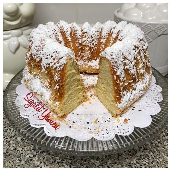 עוגה לבנה מיוחדת במינה