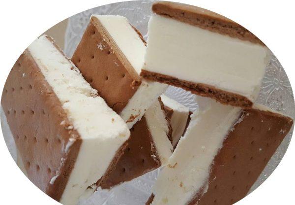 גלידה קסטה של ילדות בטעם וניל