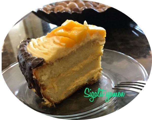עוגת מנגו אוורירית