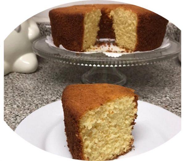 עוגת סולת קוקוס מיץ תפוזים