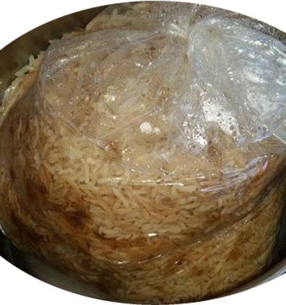 אורז בשקית קוקי ( בסיר חמין )