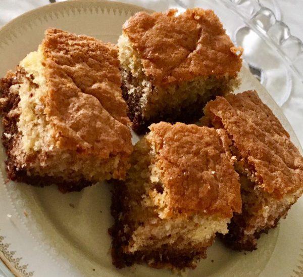 עוגה משוישת