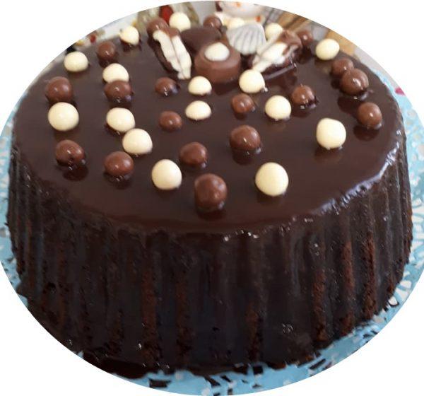 עוגת שוקולד חמה