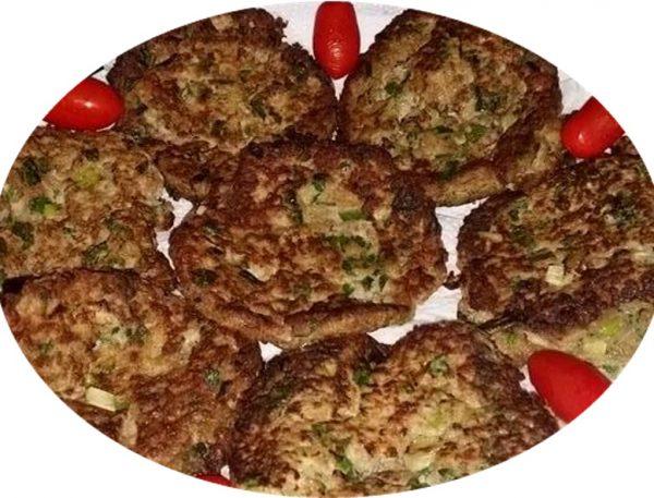 עיג'ה-לביבות בשר