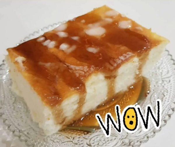 עוגת גבינה אפויה נימוחה מייפל ללא תחתית_נורית יונה