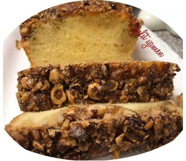 עוגת טורט אגוזים אגוזי לוז