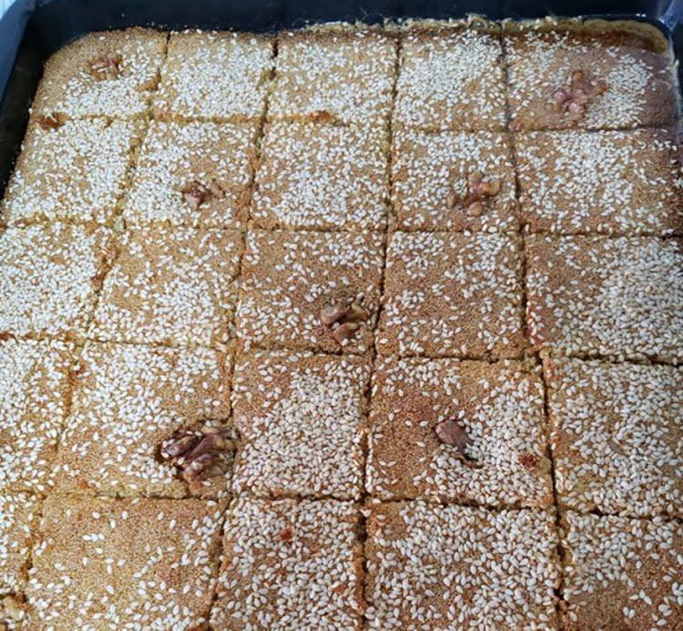 עוגת סולת טריפוליטאית מושלמת (ספרה גלבלוז)