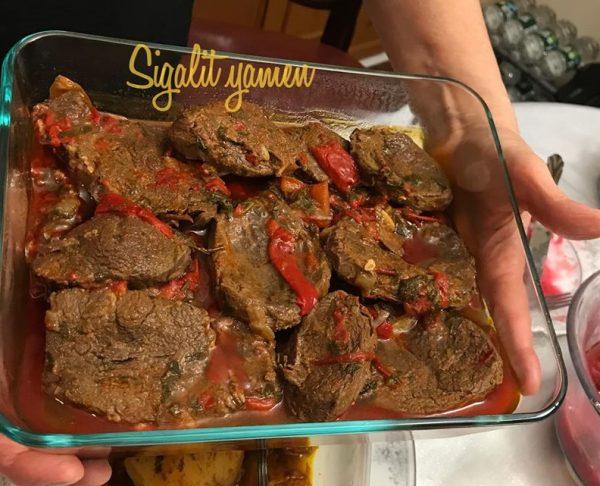 צלי בשר גמבה