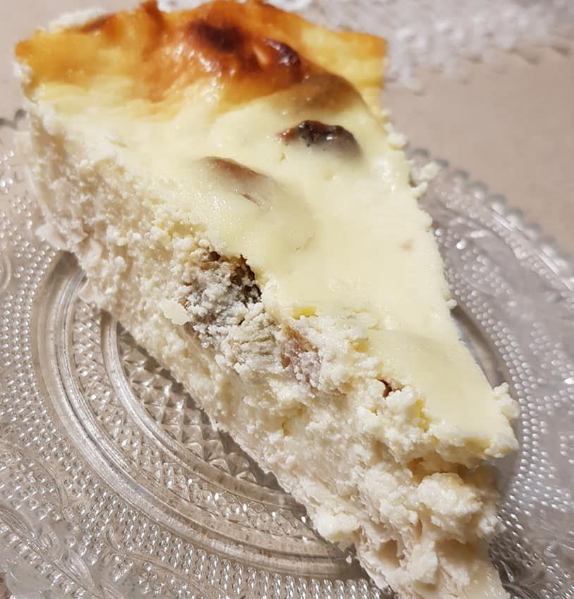 עוגת גבינה עם עלי פילו שמכינים ב 5 דקות