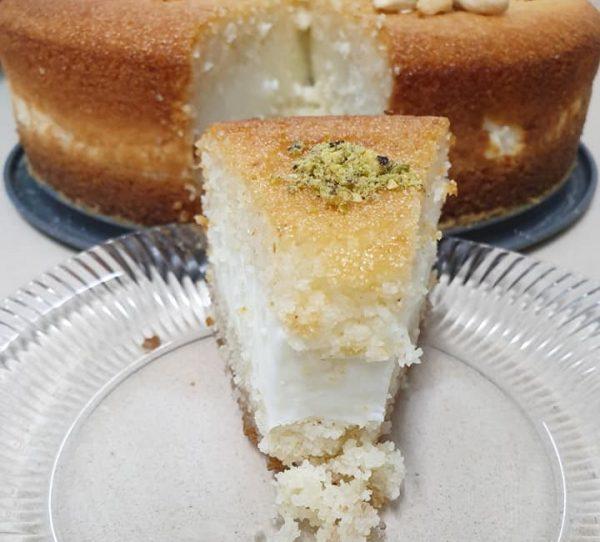 בסבוסה במילוי מלבי … עוגה מטורפת