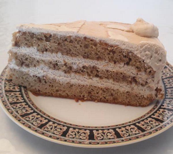 עוגת טורט קצפת בטעם …קפה