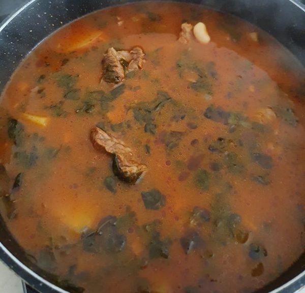 מרק שעועית לבנה עם בשר 🤤🤤🤤🤤