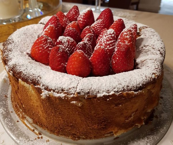 עוגת גבינה עננים אפויה_נורית יונה