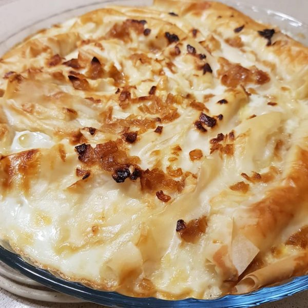 מאפה פילו במילוי גבינות