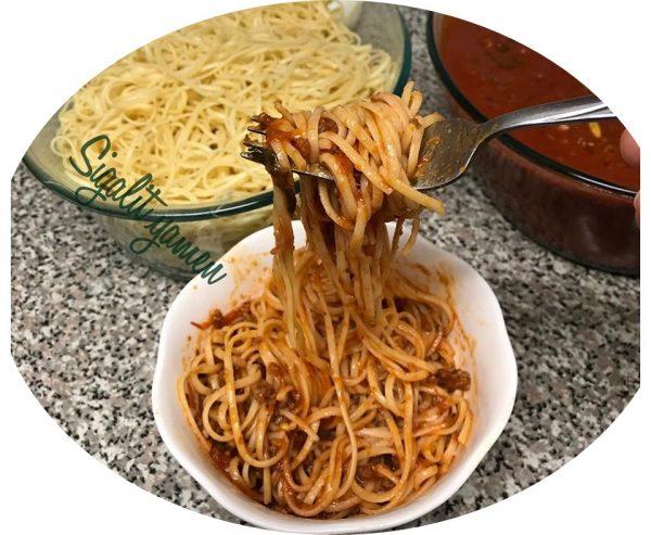 רוטב איטלקי מיוחד עם בשר טחון לכל סוגי הפסטה
