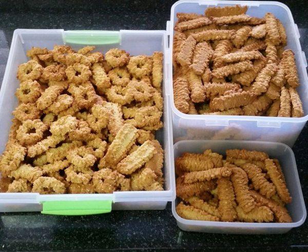עוגיות מרוקאיות מתכון מקורי לפני 40 שנה