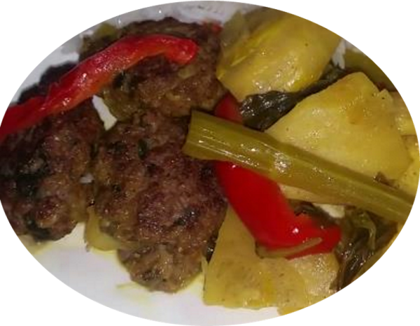 קציצות בשר עם תחתיות ארטישוק בטעם לימוני משגע