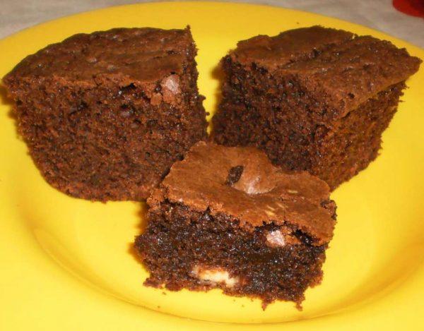 בראוניז 2 שוקולדים