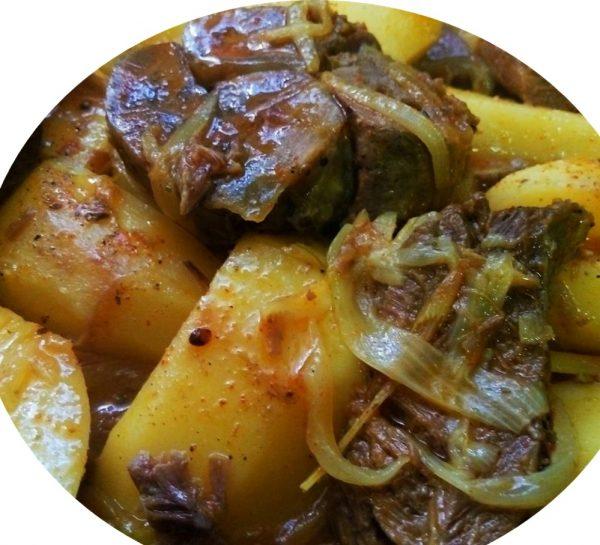 בשר עם תפוחי אדמה