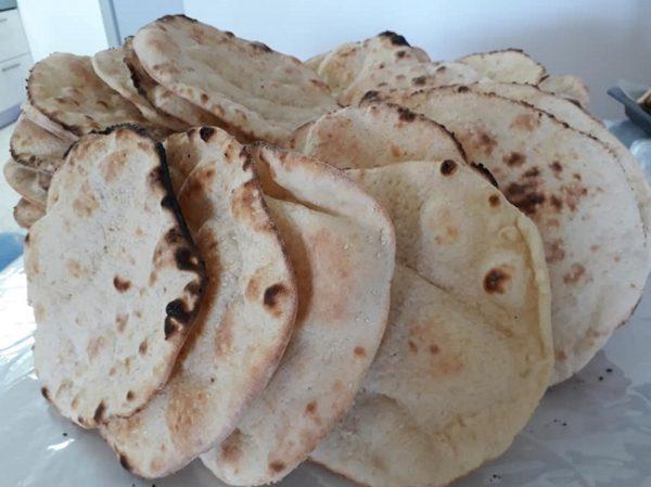 ג'ראדק-פיתה יבשה קרנצ'ית מהמטבח העיראקי