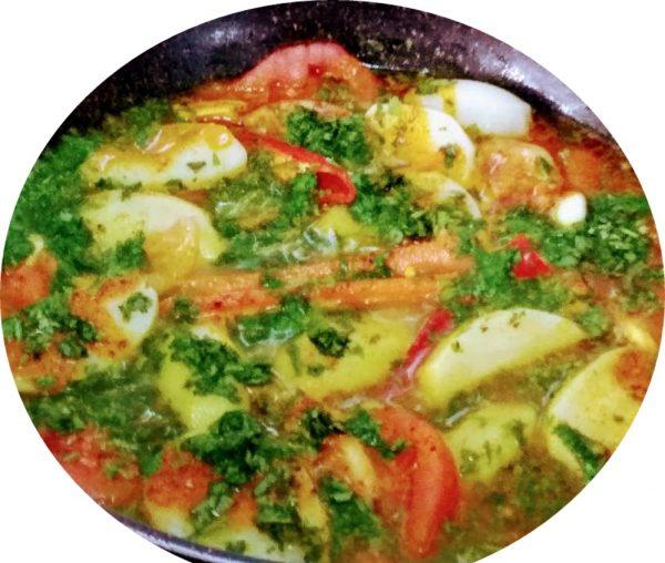 דניס עם ירקות בנוסח צפון מרוקו