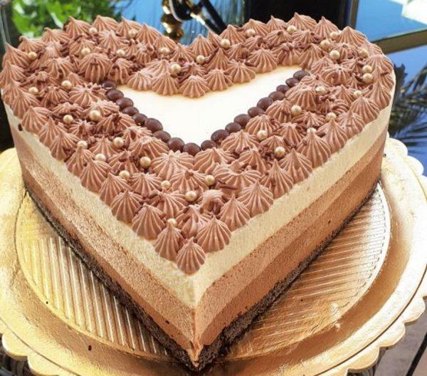 טריקולד מושלם על תחתית עוגיות אוראו