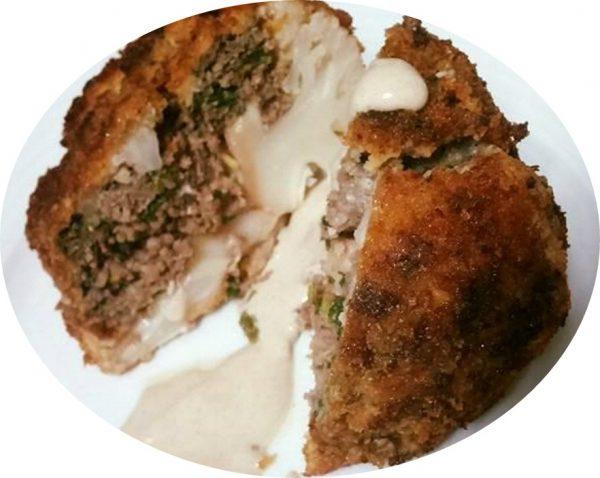 כרובית קריספי במילוי בשר