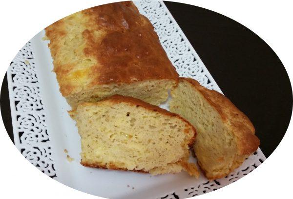 לחם גבינה צהובה