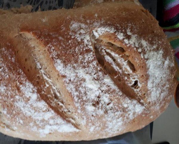 לחם קמח שיפון