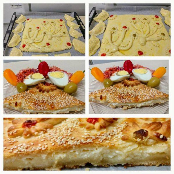 מאפה עם גבינות
