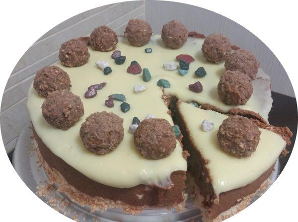 מקצפת קוקוס במוס שוקולד ללא גילטין וללא חלמונים