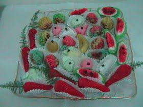 מרציפן – עוגיות שקדים מרוקאיות במעטפת תמרים/אגוזים