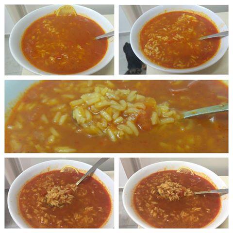 מרק אדום חמוץ מתוק ואפשר גם חריף