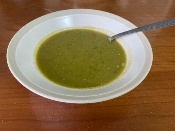 מרק אפונה ירוקה, נהדר