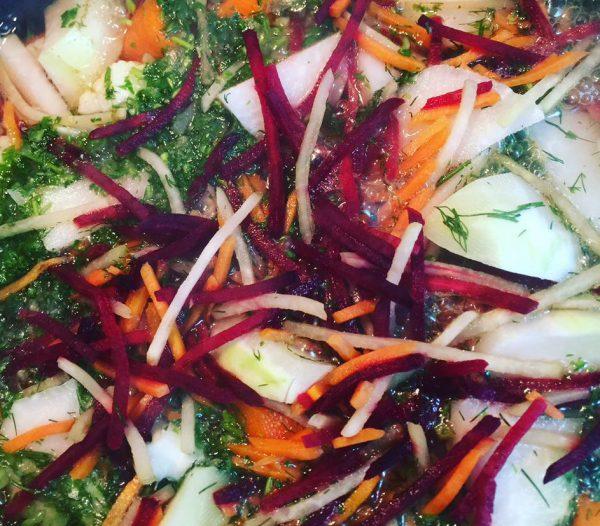 מרק ירקות משגע