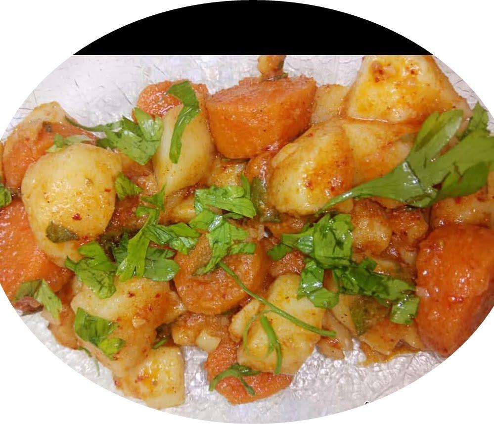 סלט תפוחי אדמה וגזר