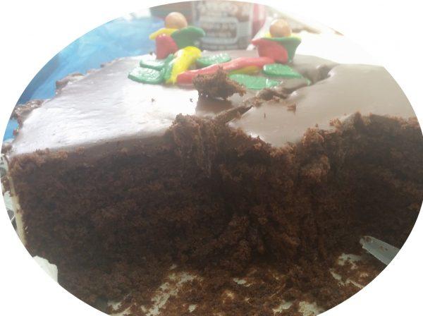 עוגה שוקולדית