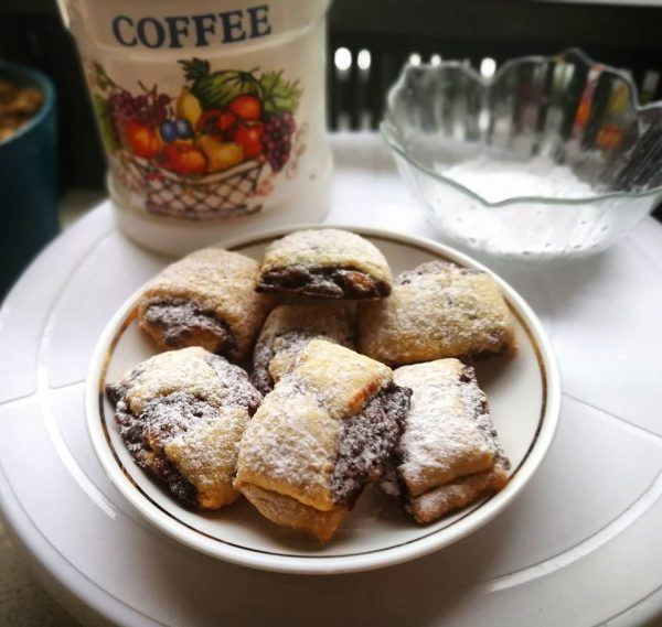 עוגיות בצק פריך משגעות במליות מתוקות