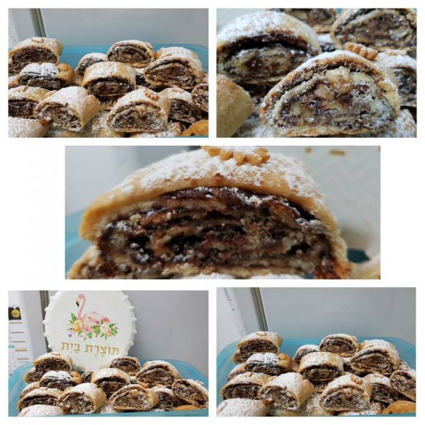 עוגיות מגולגלות