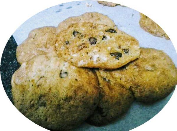 עוגיות מוזלי וחלבה