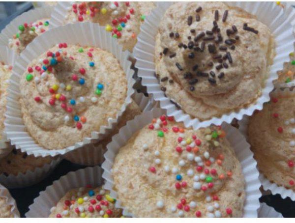 עוגיות קוקוס במנג'טים נייר