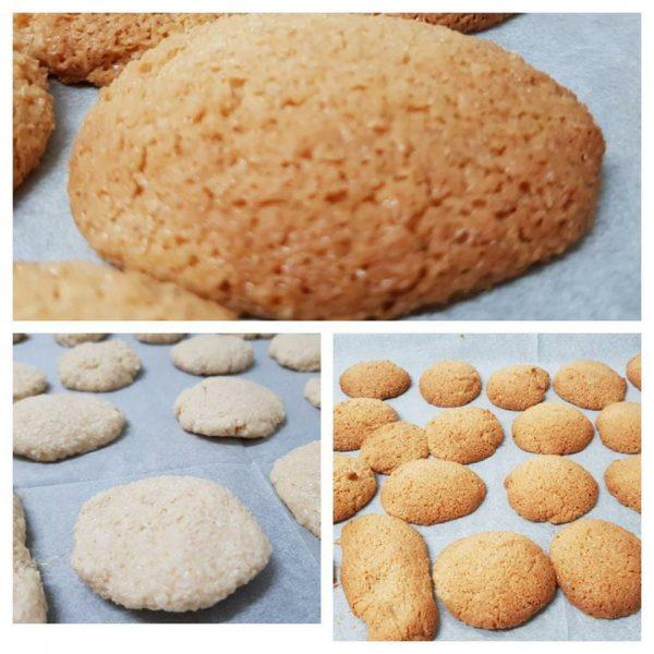 עוגיות קוקוס ללא גלוטן ב 2 דקות הכנה
